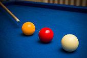 Carom billiard