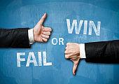 WIN or FAIL / Blue board concept (Click for more)