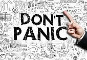 DON'T PANIC / Felt tip pen concept (Click for more)