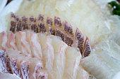 sashimi, Raw fish