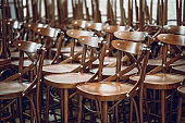 Finished Chairs Ready For Sale In Workshop