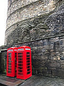 Red Phone Booths In Scotland