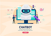 Chatbot future concept.