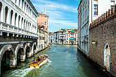 Canals and streets of Venice