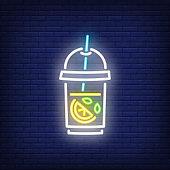 Lemonade neon sign