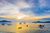 sunrise at Rawai beach Phuket Thailand