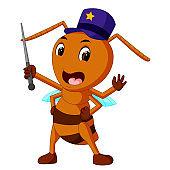 commander big brown ant