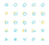 icon set - weather