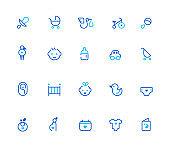 Icon set - baby