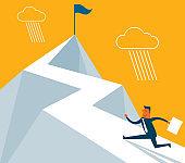 The Way Forward - Businessman