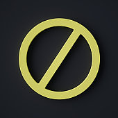 Stop Sign Symbol