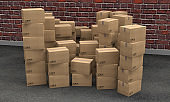 boxes carton packages