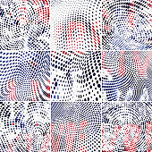 Vector Dots Pattern Background Collection