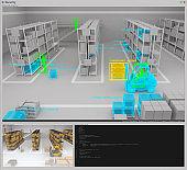 Warehouse security screen