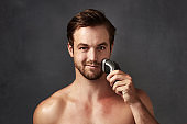 Use an electric shaver instead