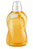 Plastic softener bottle