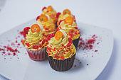 Cupcake with fortunella