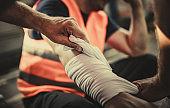 Taking care of physical injury at work!
