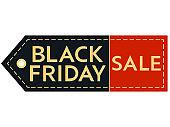 Black Friday sale. Inscription design template. Black Friday banner.
