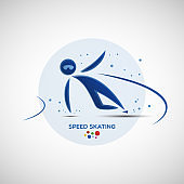 Speed Skating championship banner