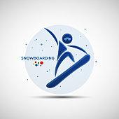 Snowboarding championship banner