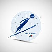 Ski Jumping championship banner