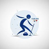 Curling championship banner