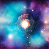 Conceptual supernova image