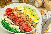 Healthy delicious Cobb Salad