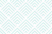 Backgrounds pattern seamless geometric white chevron abstract and green aqua line vector design. Pastel color background.