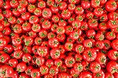 Spring summer detox vegetable diet. Close up of harvest pile. Supermarket stand of clean and shiny vegetables assortment.