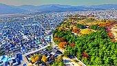 Autumn of Daereungwon Large Ancient Tombs of Kings