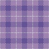 Ultra Violet Tartan Seamless Pattern Background