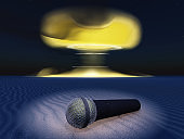 Microphone and nuclear explosion