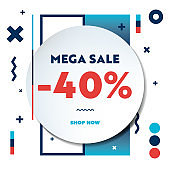 Sale Web Banner Template