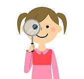 Gir, Magnifying glass