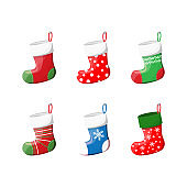 Cute Christmas Socks set