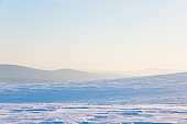 Northern Ural mountains landscape, Russia