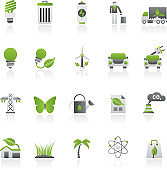 Ecology, Environment and nature icons 1