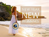 New Year new beginning inspirational quote
