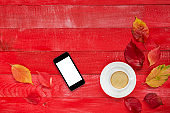 Mobile Phone and Coffee