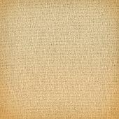 Beige canvas texture background