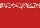 Template of decorative Christmas background. Vector.