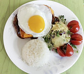 Japanese Food - Hamburger Steak