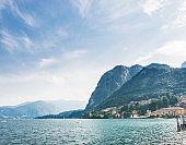 Lake Como in north Italy.