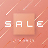 Vector abstract stylish sale banner design, promotion poster, di