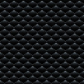 Vector seamless pattern. Black leather sofa cover.