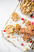 Cereal granola muesli bar