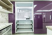Modern kitchen storage cabinet