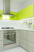 Modern kitchen corner